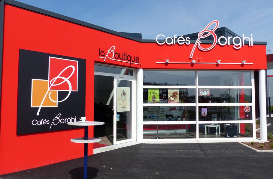 CAFES BORGHI, LA BOUTIQUE